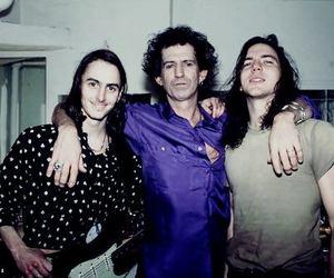 eddie vedder, Keith Richards, and pearl jam image