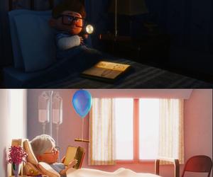 carl, pixar, and up image