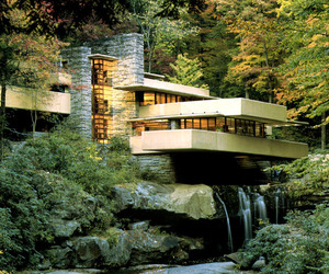 house, architecture, and frank lloyd wright image