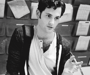 b&w, black and white, and dan humphrey image