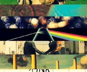 Pink Floyd, album, and music image