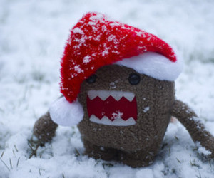 domo, christmas, and snow image
