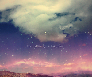 beyond, infinity, and cute image