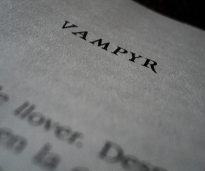 balck and white and vampyr dngfkgn image