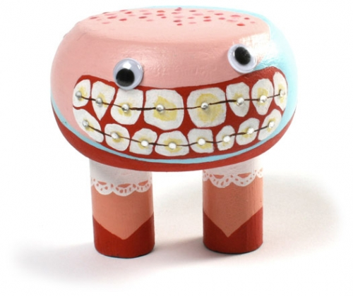 braces, grin, and toy image