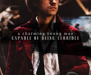 les mis, enjolras, and aaron tveit image