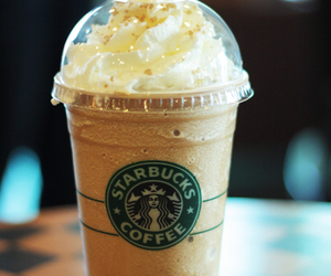 awesome, frappucino, and starbucks image