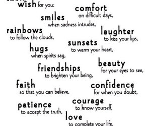 smile, wish, and friendship image
