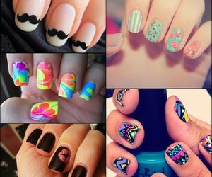 nails, colorful, and cool image