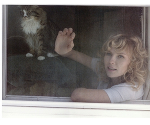 Kirsten Dunst, cat, and lula image