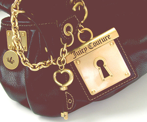 juicy couture, bag, and black image