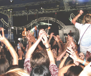 band, mosh, and party image