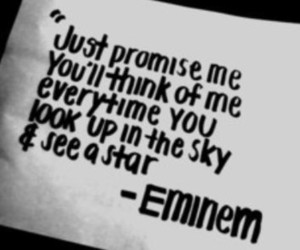 eminem, quote, and sky image