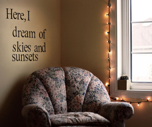 lights, pretty, and text image