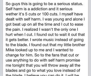 cut, self harm, and vic fuentes image