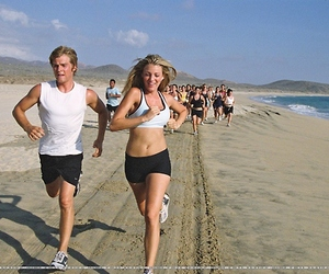 blake lively and running image