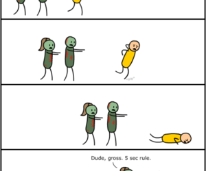 funny, zombies, and lol image