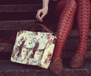 vintage, bag, and fashion image