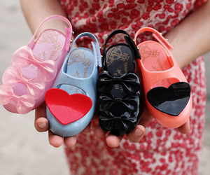 shoes, fashion, and heart image