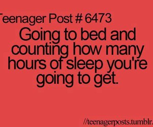 quote, sleep, and teenager post image