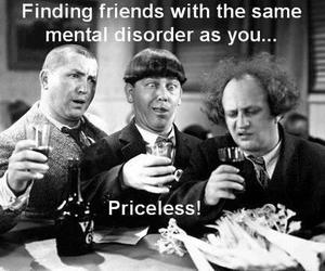 friends, funny, and priceless image