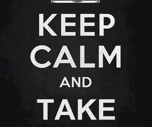 keep calm, photo, and text image