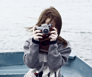 boat, fashion, and girl image