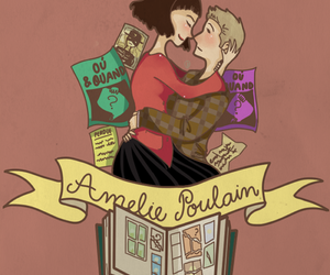 amelie, amelie poulain, and film image