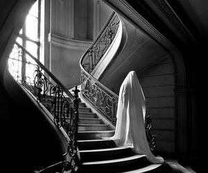 dark, ghost, and shadow image