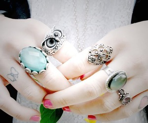 photography, rings, and fashion image