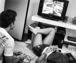 *-*, boy, and game image