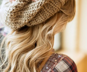 beanie, layers, and love image