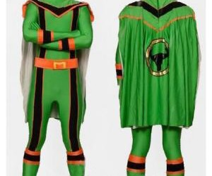 spandex superhero costume