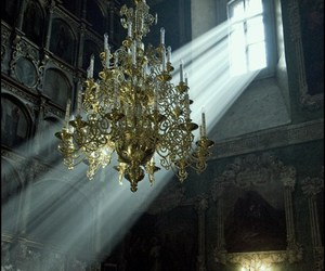 chandelier, light, and architecture image