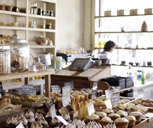 bakery, shop, and delicious image