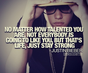 justin bieber, quote, and justin image