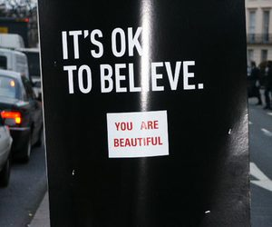 beautiful, believe, and text image