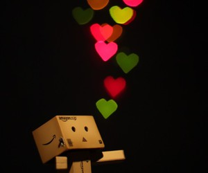 heart, hearts, and danbo image