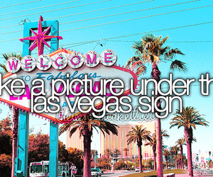 bucket list, Las Vegas, and picture image