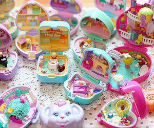 cute and polly pocket image