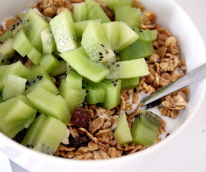 cereals, food, and kiwi image