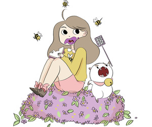 natasha allegri and bee and puppy cat image