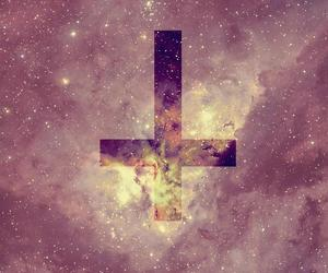 galaxy, croix, and swag image
