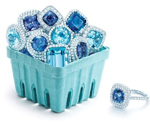 rings, tiffany, and blue image