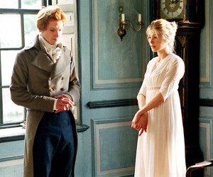 pride and prejudice, mr bingley, and rosamund pike image