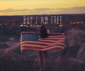 america, art, and be free image
