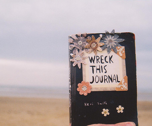 vintage, book, and wreck this journal image