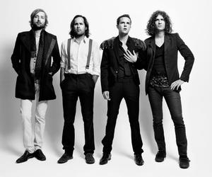 the killers, music, and black and white image