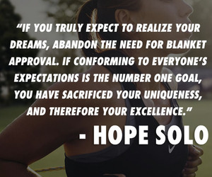 quote and hope solo image