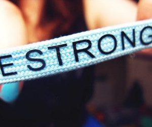 strong, be strong, and quote image